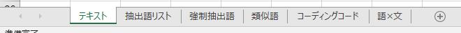 KHcoder ファイルはエクセルにまとめると便利です