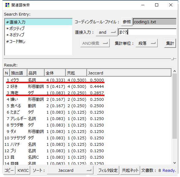 KHcoder 関連語検索